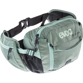 EVOC Hip Pack Race Rugzak 3 L, olive-light petrol